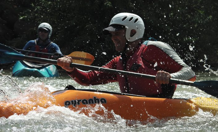 River Kayaking | Learn the fundamentals of river paddling in the Jordan River: Paddling in a suitable river kayak, riding currents, and maintaining direction and balance
