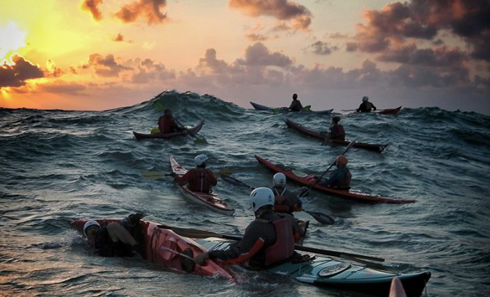 Advanced Training   Deep-sea rescues, wave surfing, nailing challenging conditions, safety training and group leadership
