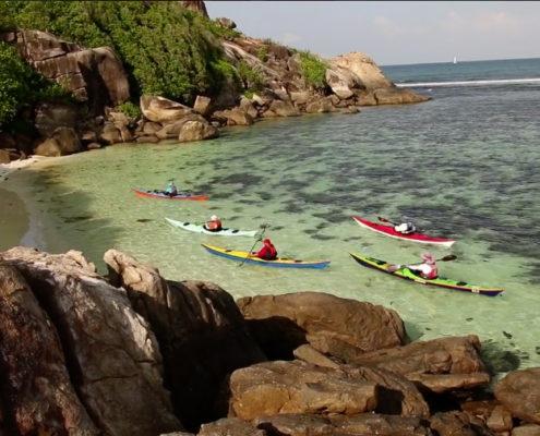 Seychelles - Morning paddling