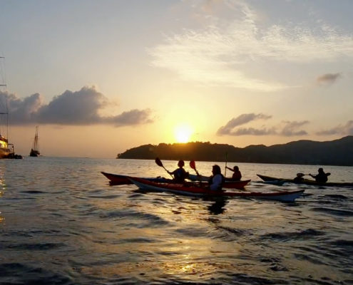 Seyschelles - After noon paddling